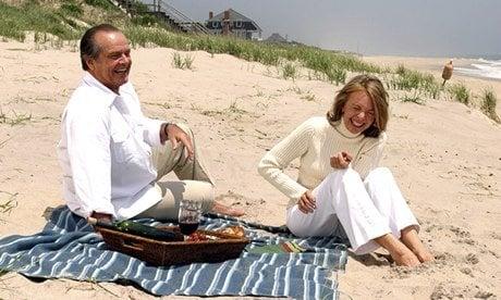 Jack Nicholson and Diane Keaton in Something's Gotta Give