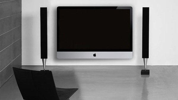 Apple Tv set - concept