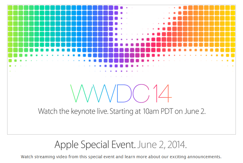 WWDC Live Stream on Apple TV