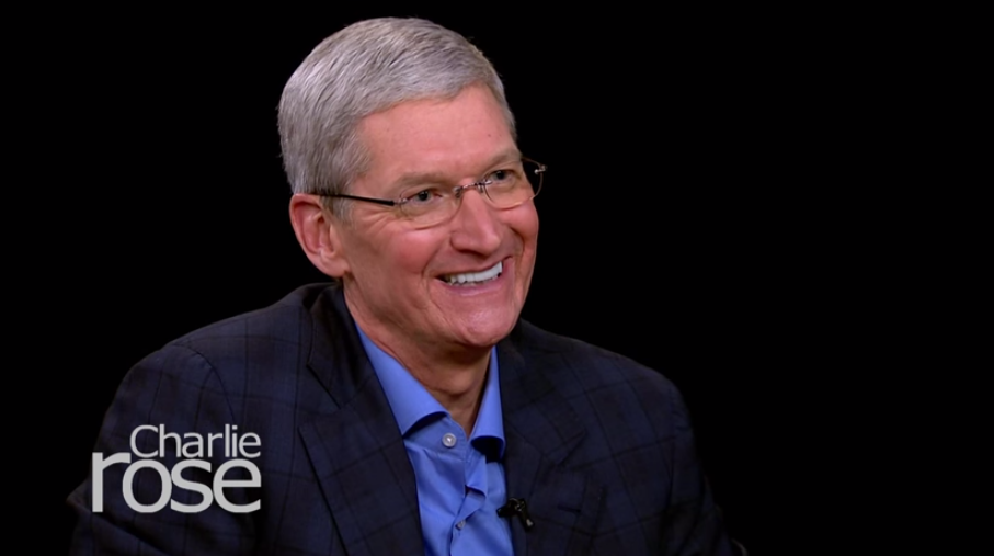 Tim Cook on Apple TV