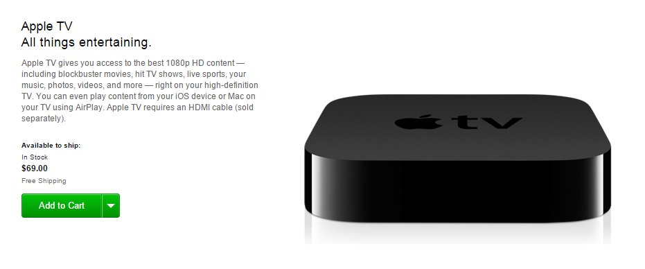 Apple TV 69