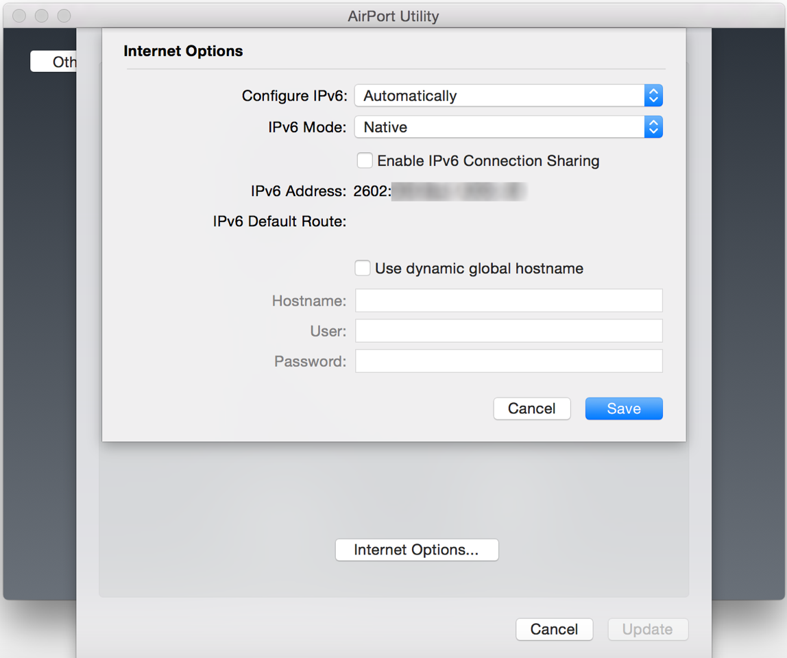 Disabling IPv6 fixes Netflix and AirPlay issues on Apple TV