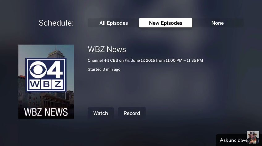 A first look at Tablo's live TV and DVR app for Apple TV 4