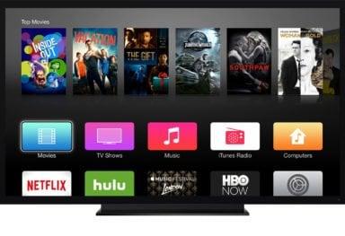 Dark mode on Apple TV