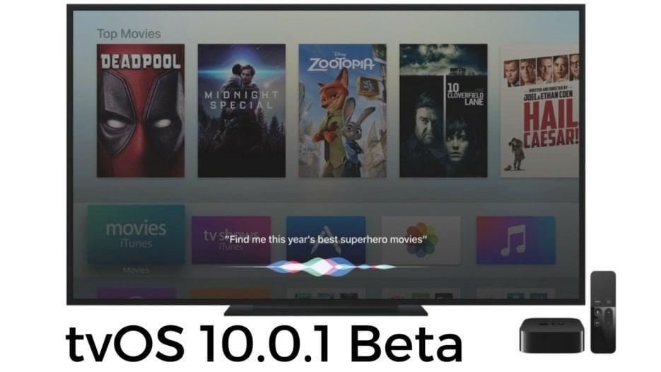 tvOS 10.0.1 Beta