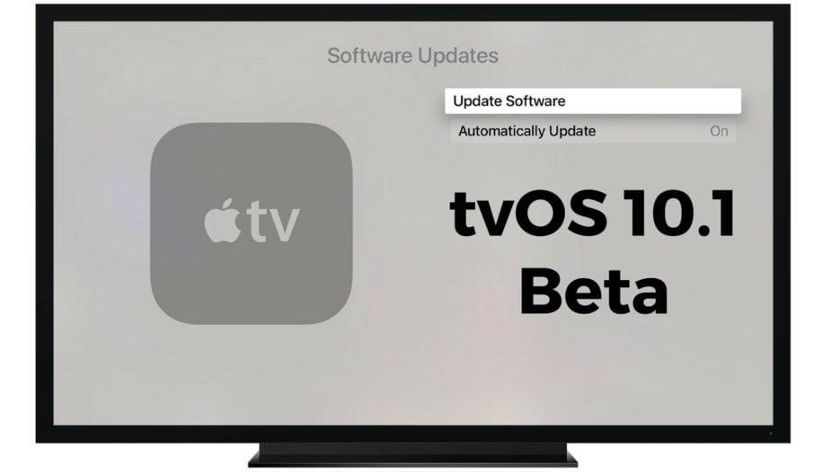 tvOS 10.1 Beta