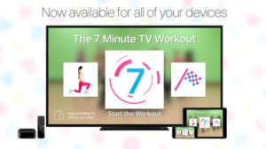 7 minute workout menu